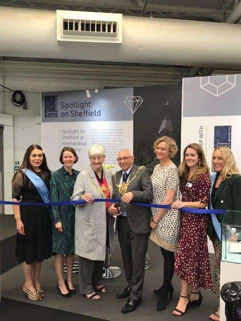 IJL 2019 at the opening of the Spotlight on Sheffield by the Mayor of Sheffield