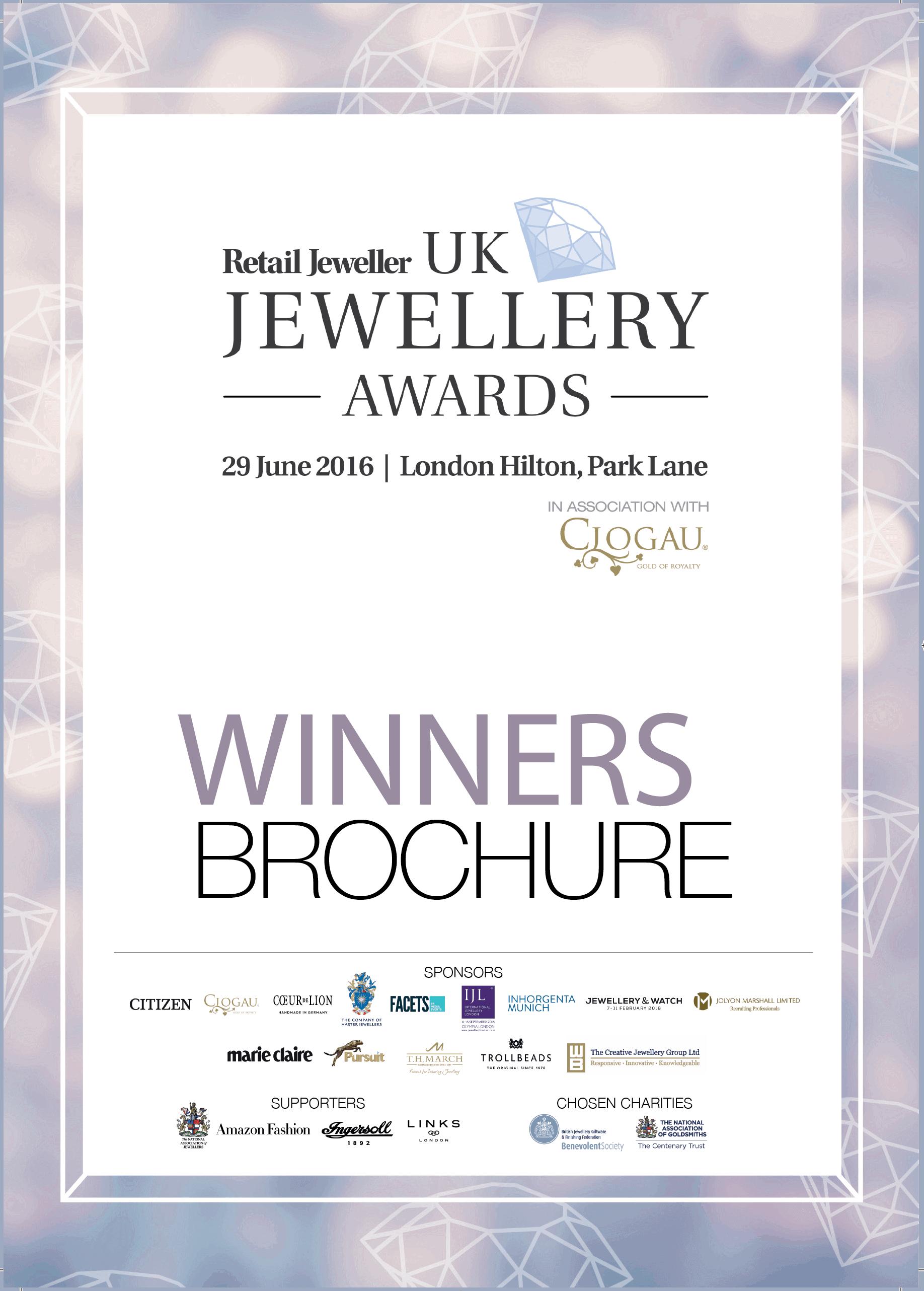 RJ Awards Brochure Cover 01, Helen Dimmick