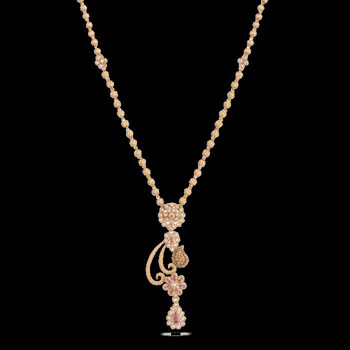 22ct Gold Anusha Necklace