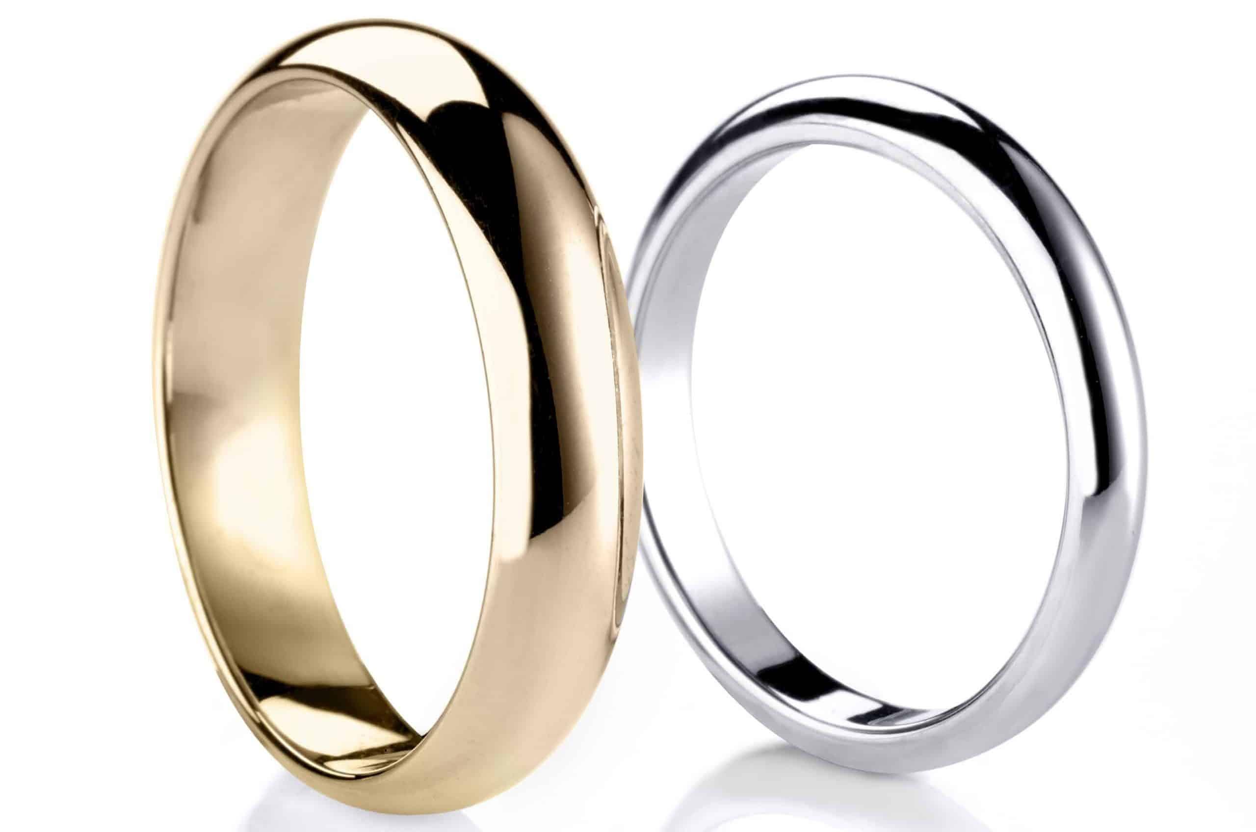 Plain wedding ring